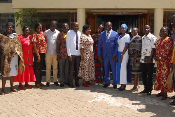 Nakuru MCAs attend plenary session in African attire