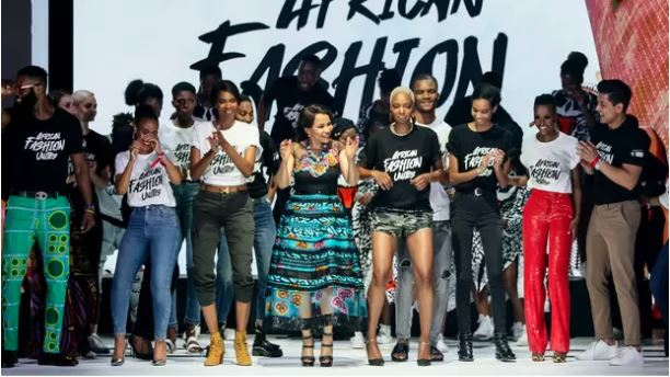African artists give their all at African Fashion Unites show