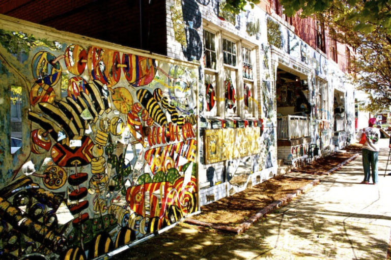 Lorcan O'Herlihy renovates Detroit's African Bead Museum