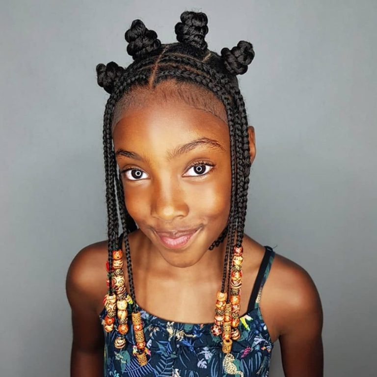 25 beautiful African braids for kids Read
