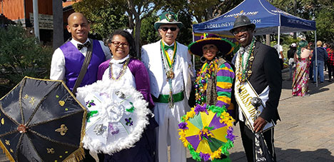 Black History: Mardi Gras Celebration