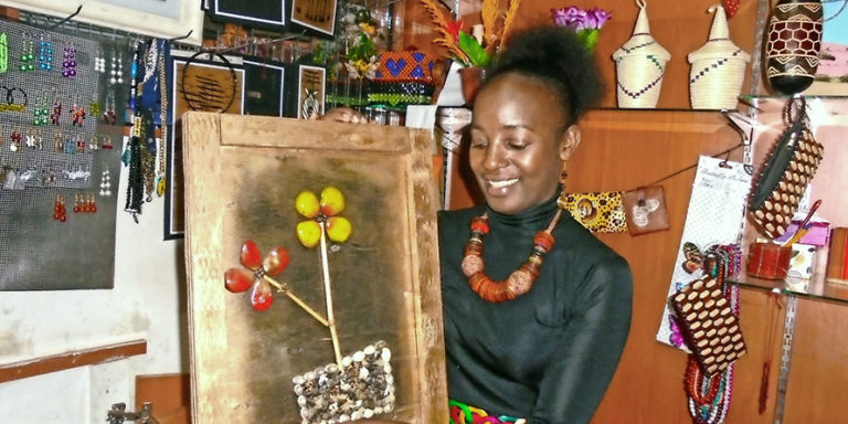 Artist paints her way to business success