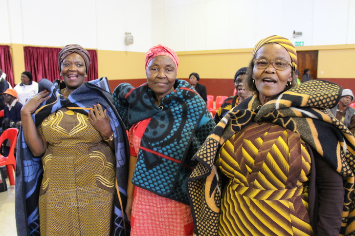 Seniors embracing their African culture in Coronationville