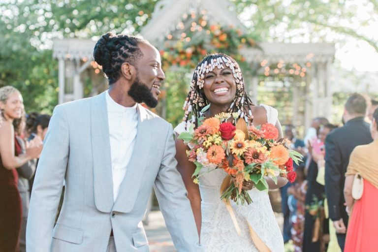 Our Wedding Blended Nigerian, Congolese and Ivorian Traditions With Modern Style