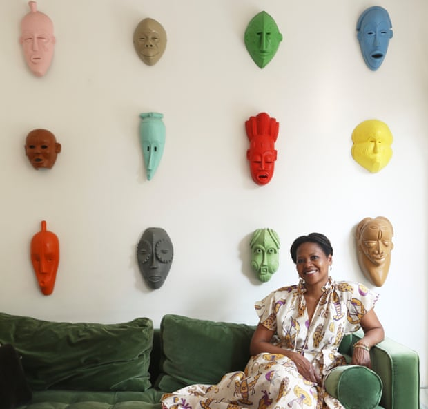 African express: an art collector's colourful home