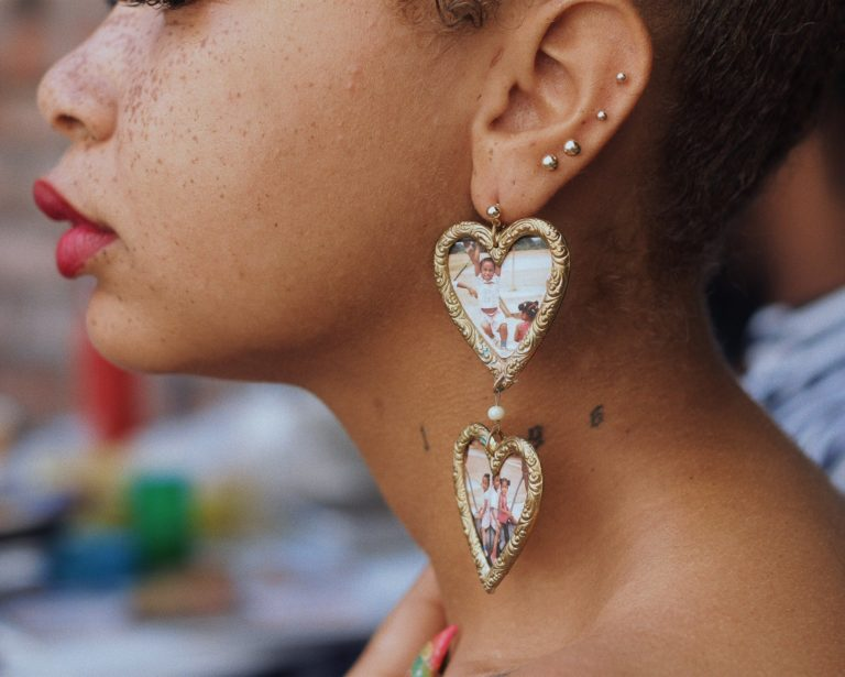 This Jewelry Designer Uses Statement Earrings to Tell Stories