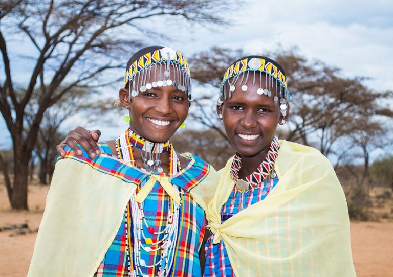 The meaning behind the intricate and colorful Maasai beaded jewelry